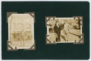 "Primary view of object titled '[Album page with four photos ""publishing house""]'."
