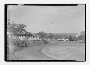 Primary view of object titled 'North Texas State Normal College athletic facilities circa 1920'.