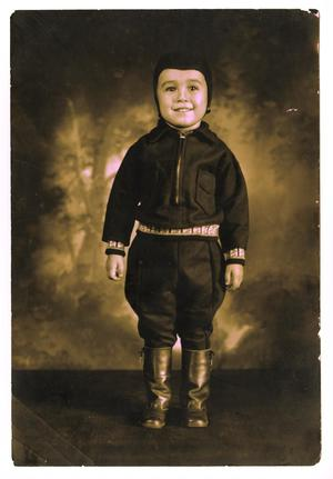 Primary view of object titled '[Frank Jr. pilot costume]'.