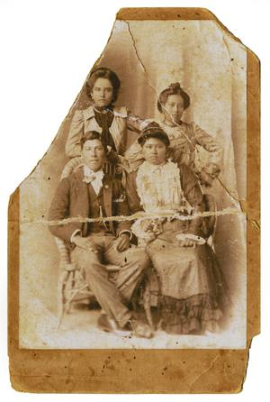 Primary view of object titled '[Unidentified family portrait]'.