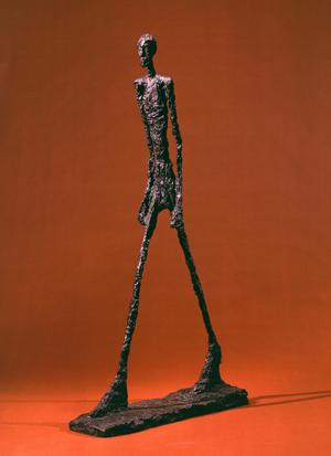 Primary view of object titled 'Walking Man II'.