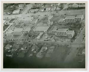Primary view of object titled '[Aerial photo of Quadrangles 1 and 2]'.