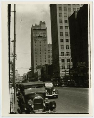 Primary view of [Downtown Fort Worth; Main Street at 7th, Looking North]