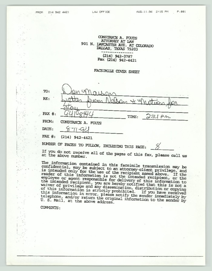 Legal Documents Mark William Nelson Digital Library - Us legal documents