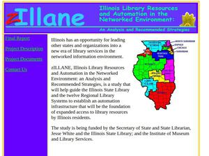 Primary view of object titled 'Illinois Library Resources and Automation in the Networked Environment: An Analysis and Recommended Strategies'.