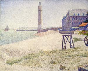 Primary view of object titled 'The Lighthouse at Honfleur'.