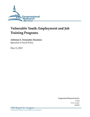 Vulnerable Youth: Employment and Job Training Programs