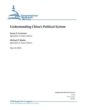 Understanding China's Political System