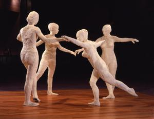 Primary view of object titled 'The Dancers'.