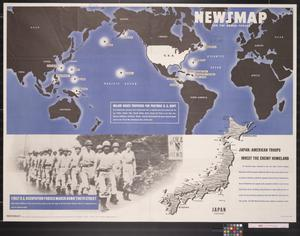 Primary view of object titled 'Newsmap for the Armed Forces'.