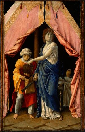 Primary view of object titled 'Judith and Holofernes'.