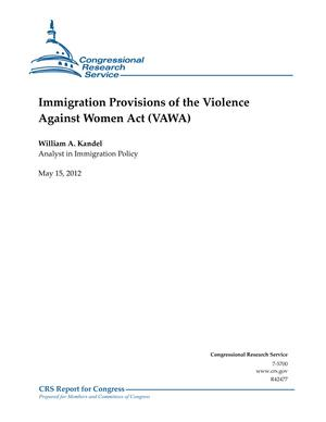 Immigration Provisions of the Violence Against Women Act (VAWA)