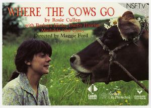 Primary view of object titled '[Post Card: Where the Cows Go]'.