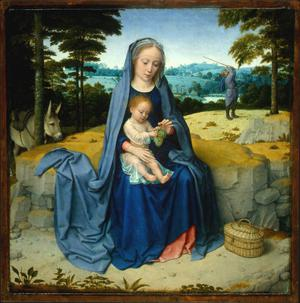 Primary view of object titled 'The Rest on the Flight into Egypt'.
