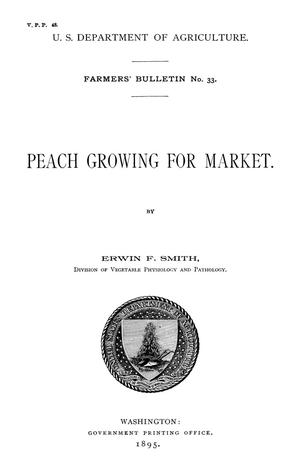 Primary view of object titled 'Peach Growing for Market'.