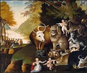 Primary view of object titled 'Peaceable Kingdom'.