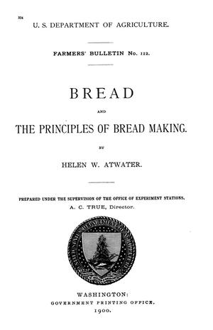 Bread and the Principles of Bread Making