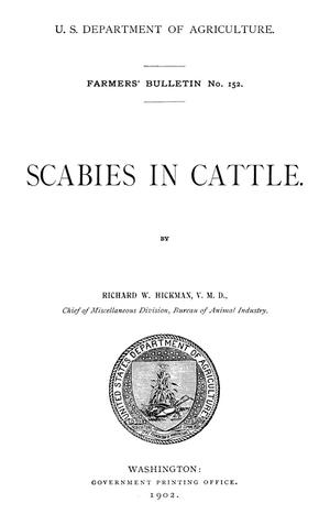 Primary view of Scabies in Cattle