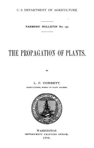 Primary view of object titled 'The Propagation of Plants'.