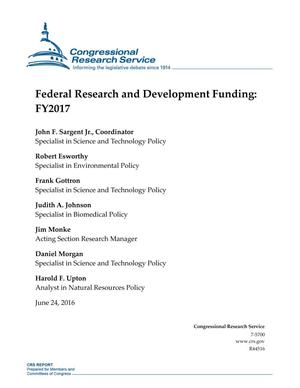 Primary view of object titled 'Federal Research and Development Funding: FY2017'.
