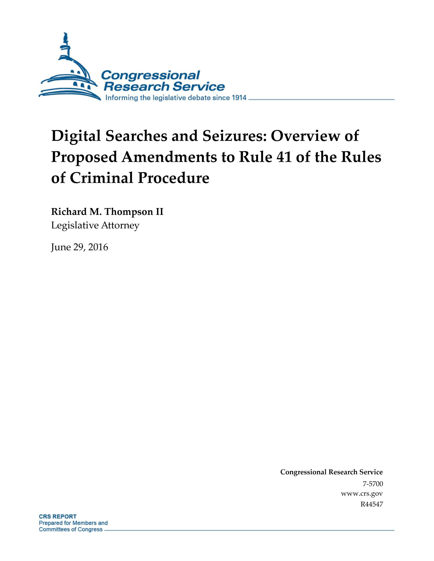 digital evidence and search and seizure Search warrant that authorized the seizure and search of the offender's computers and other digital devices for evidence of violations of nys penal law and or federal statutes this was insufficiently particular as it did not.
