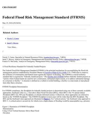 Primary view of object titled 'Federal Flood Risk Management Standard (FFRMS)'.