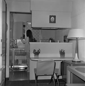 Primary view of object titled '[College Inn interior]'.