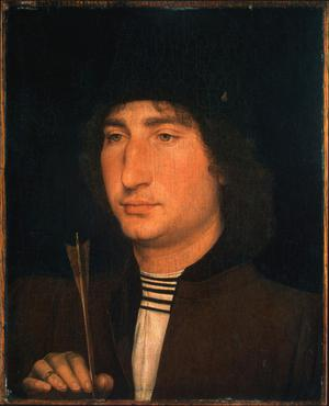 Primary view of Portrait of a Man with an Arrow