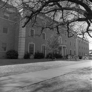 Primary view of object titled '[Clark Hall exterior]'.