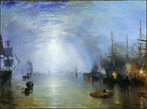 Primary view of object titled 'Keelmen Heaving in Coals by Moonlight'.