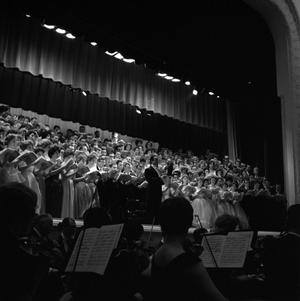 Primary view of object titled '[North Texas State University Grand Chorus and University Orchestra Concert 1961]'.