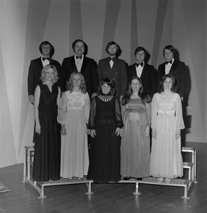 Primary view of object titled '[A Cappella choir partial group shot]'.