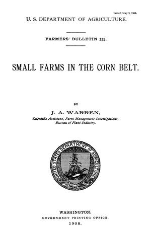 Primary view of object titled 'Small Farms in the Corn Belt'.