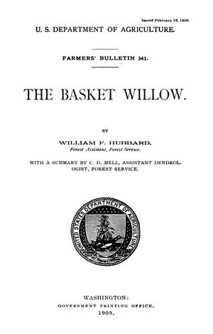 Primary view of object titled 'The Basket Willow'.