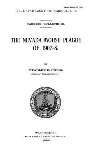 Primary view of The Nevada Mouse Plague of 1907-08