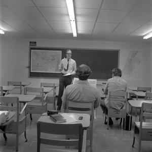 Primary view of object titled '[Classroom scene]'.