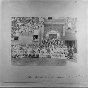 Primary view of object titled '[School group 1897 or 1898]'.