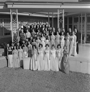Primary view of object titled '[Choir Posing Outside]'.