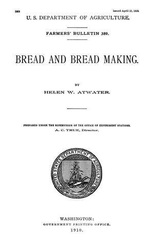 Primary view of object titled 'Bread and Break Making'.