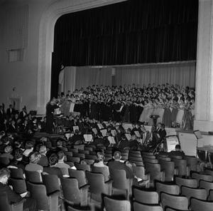 Primary view of object titled '[Grand Chorus performing on stage]'.
