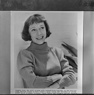 Primary view of object titled '[Portrait of Imogene Coca]'.
