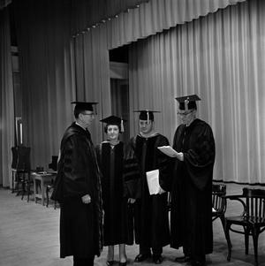 Primary view of object titled '[Commencement 1965]'.