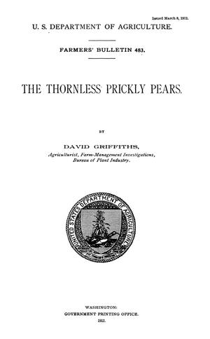 Primary view of object titled 'The Thornless Prickly Pears'.