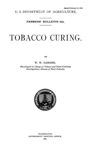 Primary view of object titled 'Tobacco Curing'.