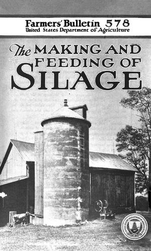 Primary view of object titled 'The Making and Feeding of Silage'.