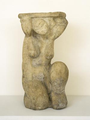 Primary view of object titled 'Caryatid,'.