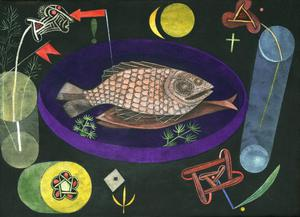 Primary view of object titled 'Around the Fish'.