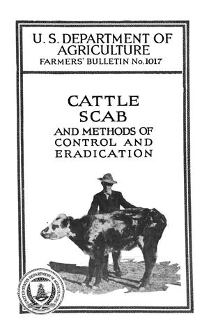 Primary view of object titled 'Cattle Scab and Methods of Control and Eradication'.