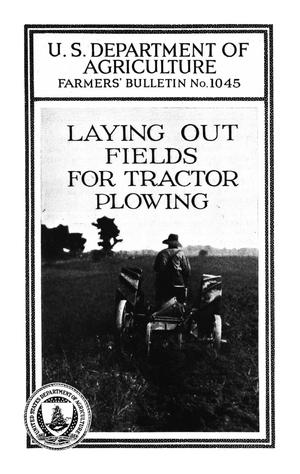 Primary view of object titled 'Laying Out Fields for Tractor Plowing'.