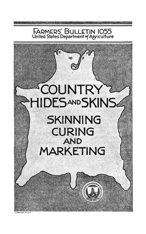 Primary view of object titled 'Country Hides and Skins: Skinning, Curing, and Marketing'.